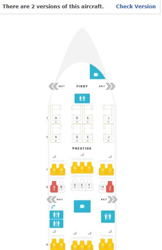 777-300ER with regular seat
